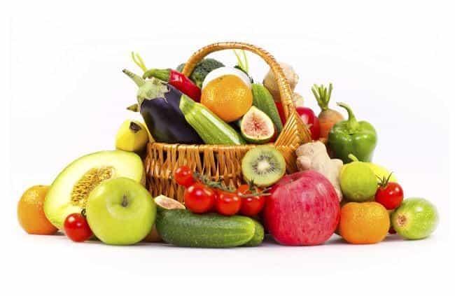 Fruta y verdura a diario